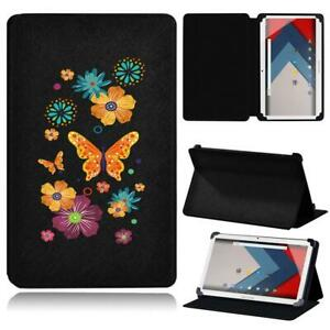 Color Printed Leather Flip Smart Stand Case Cover For ARCHOS 101 T80 + Stylus