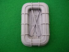 Liferaft with Paddles, 1/24th scale.  Model Boat Fittings.