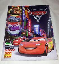 Disney Pixar : Cars 2 : Panini Sticker Album : 100% Complete