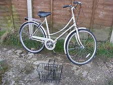 "Vintage Ladies Womens Raleigh Caprice Road Town Bike 19.5"" Frame Shopping Basket"