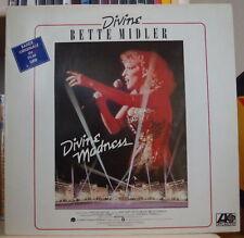BETTE MIDLER DIVINE MADNESS OST FRENCH LP ATLANTIC 1980