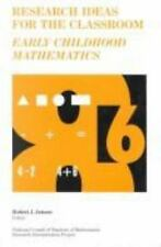 Research Ideas for the Classroom: Early Childhood Mathematics (Research Ideas fo