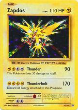 x1 Zapdos - 42/108 - Holo Rare Pokemon XY Evolutions M/NM