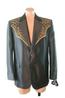 NWT Circle S 44R Western Sport Coat San Miguel Embroidered Yoke Bronze Blazer