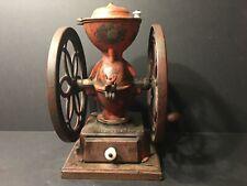 "Large Antique Philadelphia Enterprise Coffee Grinder, 15"" high"