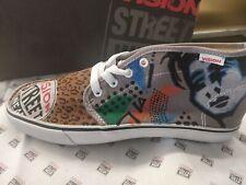 Hi top canvas shoes