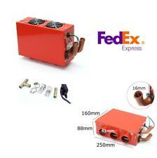 3 Hole 12V Car Warmer Cooling Heater Heating Fan Defroster Demister 80W +Switch