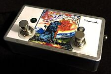 Saturnworks Active A/B/Y ABY Guitar Switch Buffer Pedal, Handcrafted in the USA