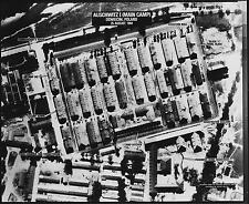 Auschwitz Poland Main Camp June 1944 World War 2 Reprint Aerial Photo 6x5 inch