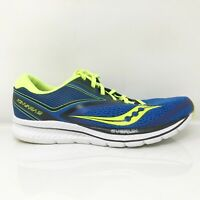 Saucony Mens Kinvara 9 S20418-4 Blue Black Volt Running Shoes Lace Up Size 9