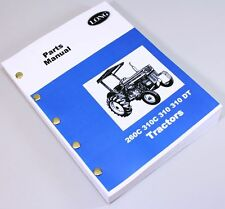 LONG 260C 310C 310 310DT TRACTOR PARTS ASSEMBLY MANUAL CATALOG EXPLODED VIEWS