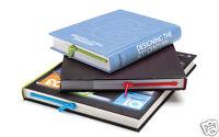 3 ZIPMARK Pack Set Zipper Bookmarks Red Blue Green Lot Book Page Peleg Design