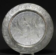 Tiffany & Co. Sterling Silver Acid Etched Serving Tray
