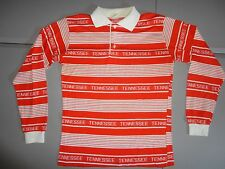 RARE Vintage 1970's Tennessee Volunteers NCAA Long Sleeve Polo Shirt Fits Mens S