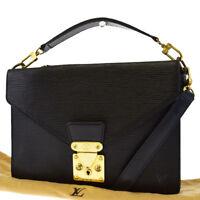 Auth Louis Vuitton BIFACE  2Way Shoulder Hand Bag Epi Leather BK M52322 64ED854
