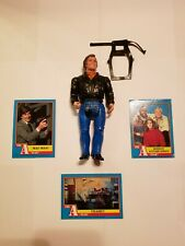 """Vintage The A-Team 6"""" Face Action Figure And Card Lot Galoob 1983"""