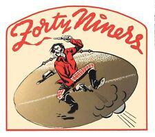 San Francisco 49'ers  NFL Football  1960's  Vintage Looking  Sticker Decal  AFL