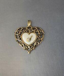 CrazieM Sterling 925 Silver Vintage Southwestern Estate Heart Pendant 7g x40