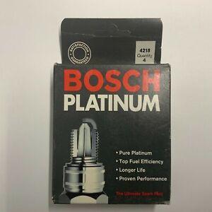 BOX of 4 Bosch Platinum 4218 WR8DP Spark Plug