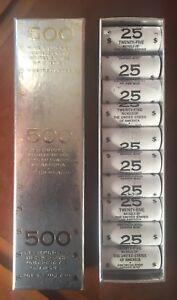 "500 UNCIRCULATED NICKELS ""2006 Monticello Nickels"" 20 Rolls""RARE"""
