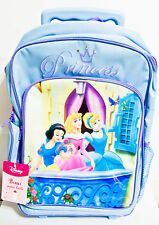 Disney Princess Large School Rolling Backpack Luggage
