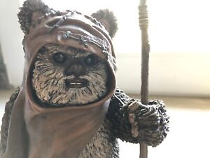 WICKET Warrick Star Wars ATTAKUS 1/5 No sideshow complet BE