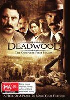Deadwood : Season 1 (DVD , 4-Disc Set) Series one - OVER 10 HOURS - Region 4 Aus