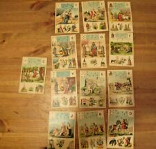 ANCIEN GRAND JEUX de CARTES / TAROT de Melle LENORMAND - 52 Cartes + 2 Joker