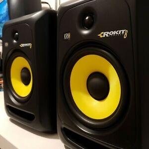 KRK Rokit RP8 G3 DJ Professional Active Powered Studio monitors (Pair)