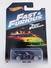 Hot Wheels 2017 Fast & Furious Honda S2000 Black The Fast & The Furious