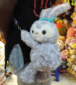 Tokyo Disney Sea Duffy Stella Lou Rabbit Plush Doll Shoulder Bag Crossbody Bag