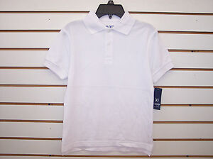 Boys Izod $18-$20 Assorted Color Uniform Polo Shirts Sizes Small & 4 - 14/16
