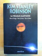 LA TRILOGIE MARTIENNE par KIM SATNLEY ROBINSON OMNIBUS 1641 PAGES 2012