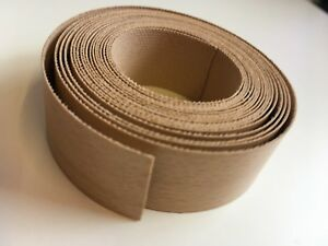 Iron On Edging Tape Pre-glued approx 22mm -sold by the metre various colours