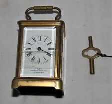 Delightful & Rare French Miniature Carriage Clock