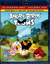 NEW Angry Birds Toons Blu-ray SEASON ONE Volume One SEALED 26 Episodes animated
