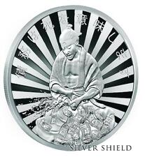 """2017 Silver Shield DEBT MEANS DEATH  Proof - #7 in """"Death of Dollar"""" Series SSG"""