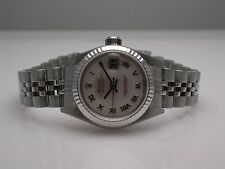 ROLEX 79174 OYSTER PERPETUAL DATEJUST STAINLESS STEEL AUTOMATIC LADIES WATCH