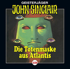 John Sinclair CD Folge 116  Totenmaske aus Atlantis  OVP