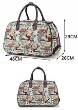New Cartoon Winnie the Pooh Vintage Holdall Trolley Bag Travel Case Hand Luggage