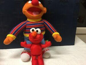 Sesame Street Ernie and Elmo Soft Toy ref B18