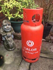 Full Calor 19kg Propane Gas Bottle  No Deposit