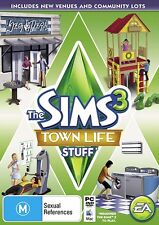 The Sims 3: Town Life Stuff Expansion *NEW & SEALED* PC MAC