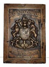 1917 East India Company Award Old Iron Queen Victoria Award London
