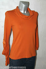 joli pull sweat orange COP COPINE gridley taille 2 (38-40)  excellent état
