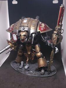 Warhammer 40k Adeptus Custodes Imperial Knight Painted