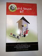 Build and Paint Bird House Kit