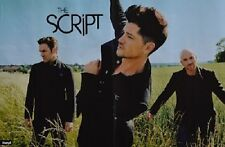 THE SCRIPT - A3 Poster (ca. 42 x 28 cm) - Band Clippings Fan Sammlung NEU