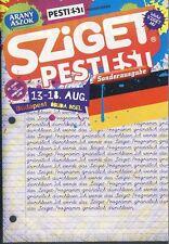 SZIGET FESTIVAL 2008 - FESTIVAL GUIDE - JAMIROQUAI - SEX PISTOLS - R.E.M