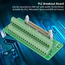 IDC40P 40Pin Male Header Break Board Terminal Block Connector PLC Interface SY